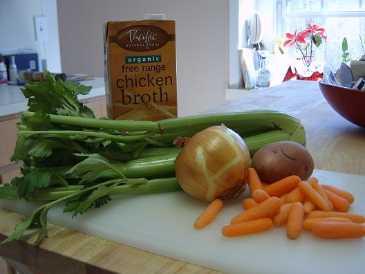 Basic Ingredients for Split Pea Soup
