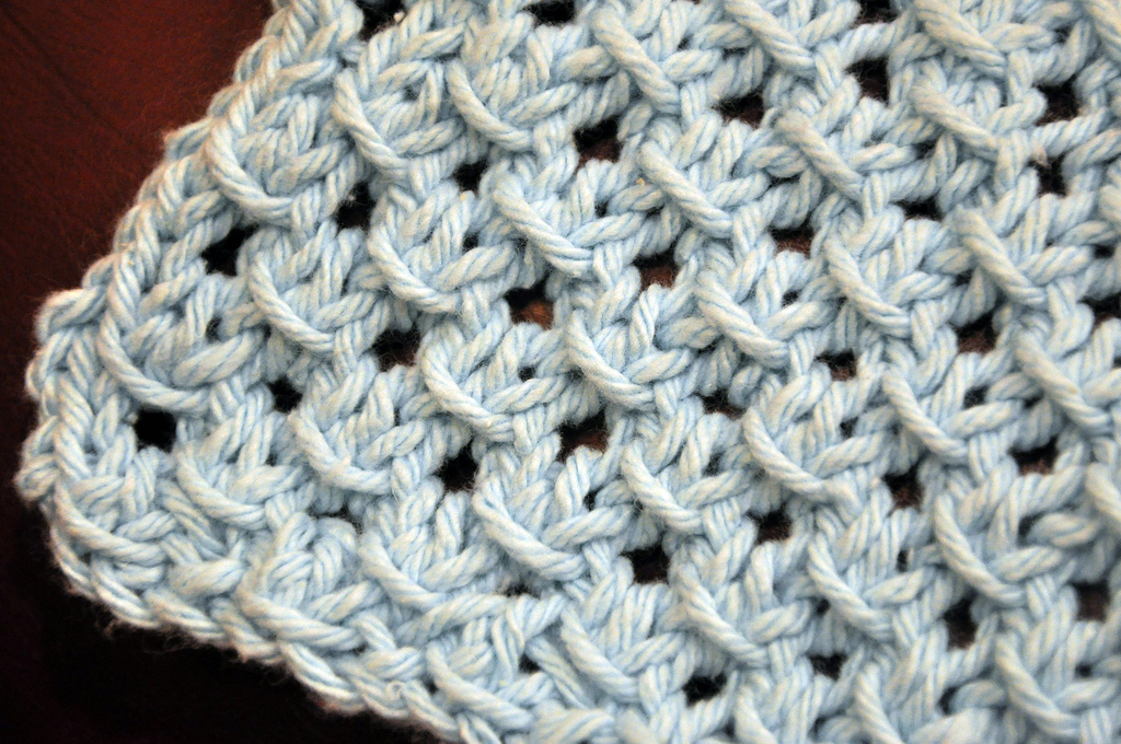 Open Star Dishcloth Pattern » Razor Family Farms